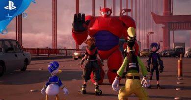 Kingdom Hearts III – Big Hero 6 Trailer | PS4