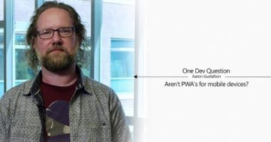 One Dev Question with Aaron Gustafson - Aren't PWA's for mobile devices?