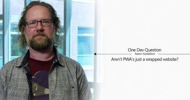 One Dev Question with Aaron Gustafson - Aren't PWA's just a wrapped website?