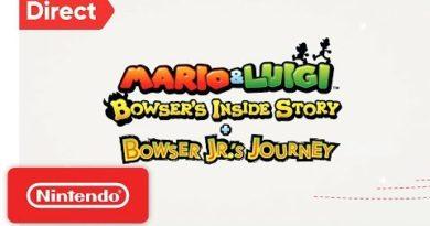 Mario & Luigi: Bowser's Inside Story + Bowser Jr's Journey | Nintendo Direct 9.13.2018