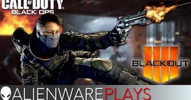 Alienware Plays Call of Duty Black Ops 4 Blackout Beta - Aurora Gaming PC