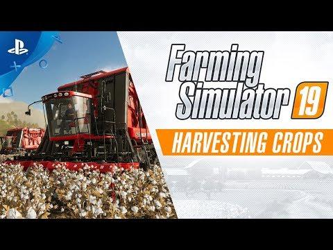 Farming Simulator 19 – Harvesting Crops Trailer | PS4