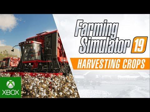 Farming Simulator 19 – Harvesting Crops