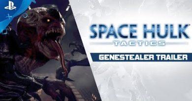 Space Hulk: Tactics - Genestealer Trailer   PS4