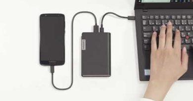 Lenovo USB-C Laptop Power Bank Training Video