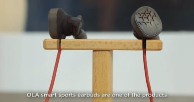 OLA Smart Sports Earbuds at Lenovo Tech World 2018