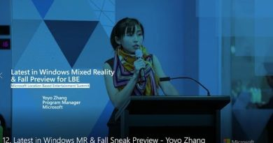 Latest in Windows MR & Fall Sneak Preview - Yoyo Zhang, Program Manager II, Microsoft