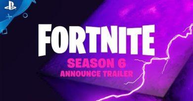 Fortnite - Season 6: Darkness Rises   PS4