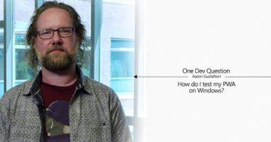 One Dev Question with Aaron Gustafson - How do I test my PWA on Windows?