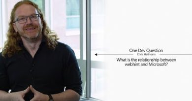 One Dev Question with Chris Heilmann - What is the relationship between webhint and Microsoft?