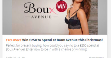 Win £250 to Spend at Boux Avenue
