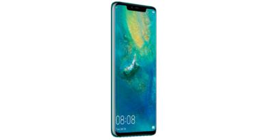 Huawei Mate 20 Pro comes to O2 custom plans