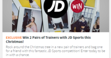 Win 2 Pairs of Trainers with JD Sports