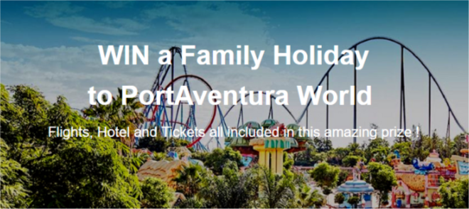 Win a Family Holiday to PortAventura World