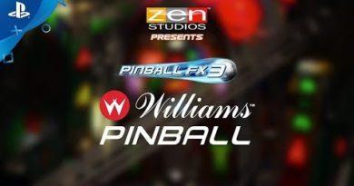 Pinball FX3 - Williams Pinball Volume 1 Launch Trailer   PS4