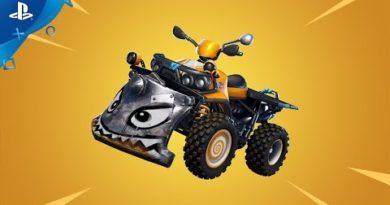 Fortnite - New Vehicle: Quadcrasher | PS4