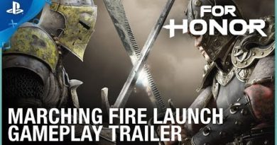 For Honor - Marching Fire Launch Gameplay Trailer   PS4