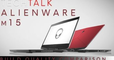 Tech Talk LIVE - Alienware m15 Build Quality