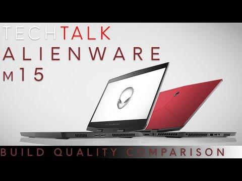 Tech Talk LIVE - Alienware m15 Build Quality