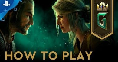 Gwent: The Witcher Card Game - How to Play | PS4