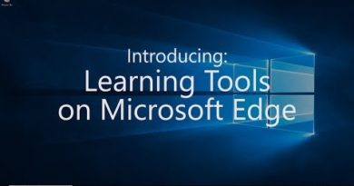Windows 10 October 2018 Update - Learning Tools for Microsoft Edge