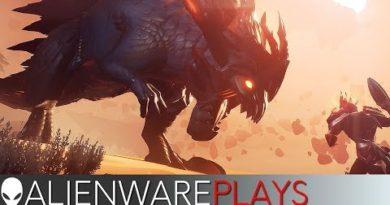 Alienware Plays Dauntless - Alienware Area-51 Gaming PC