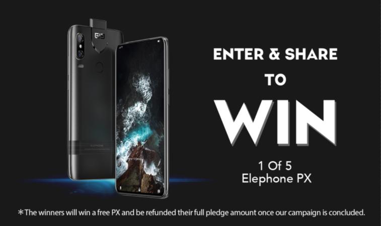 Win an Elephone PX