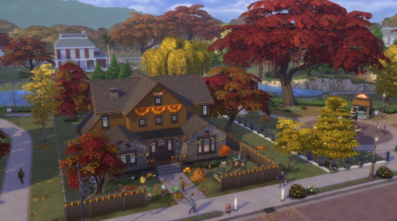 The Sims 4 Seasons Launches on Xbox One Just in Time for the Holidays
