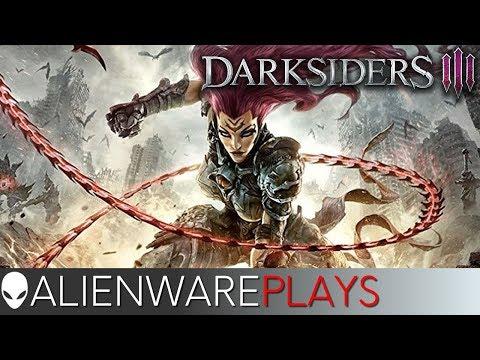 Alienware Plays Darksiders 3 - Gameplay on m15 PC Gaming Laptop