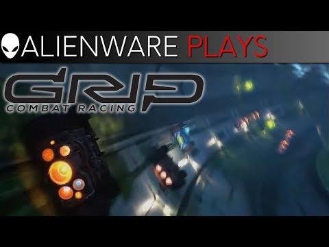 Alienware Plays GRIP: Combat Racing - Aurora PC Gameplay