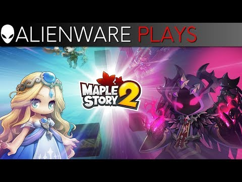 Alienware Plays MapleStory 2 - Gameplay on Area-51 Gaming PC