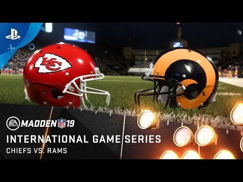 Madden NFL 19 – Biggest Matchup of the Year Rams vs Chiefs | PS4