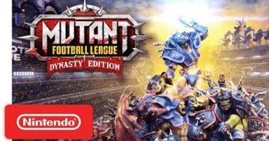 Mutant Football League: Dynasty Edition - Launch Trailer - Nintendo Switch