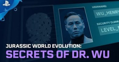Jurassic World Evolution - Secrets of Dr Wu Out Now | PS4