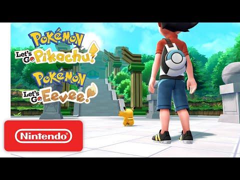 Pokémon: Let's Go, Pikachu! and Pokémon: Let's Go, Eevee! - Accolades Trailer - Nintendo Switch