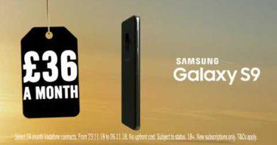 Carphone Warehouse Black Friday Samsung S9 TV Advert