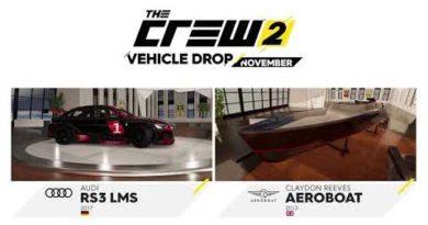 The Crew 2 - November Vehicle Drop Trailer | PS4
