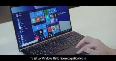 How to Setup the Face Recognition Login via Windows Hello | ASUS