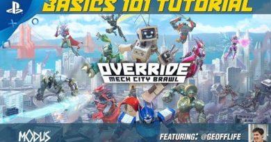 Override: Mech City Brawl - Basics 101 Tutorial | PS4