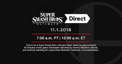 Super Smash Bros. Ultimate Direct 11.1.2018 + Nintendo Treehouse: Live Presentation