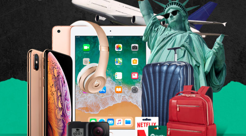 Win a trip to New York, iPhone, iPad and more!