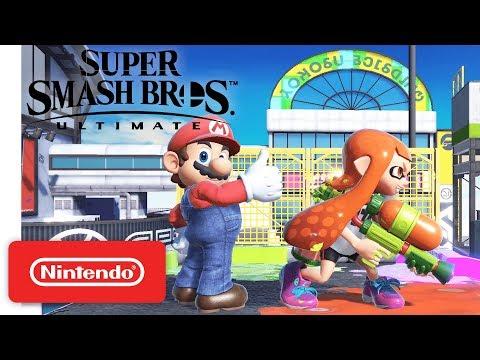 Mario Claims Turf in Super Smash Bros. Ultimate - Nintendo Switch