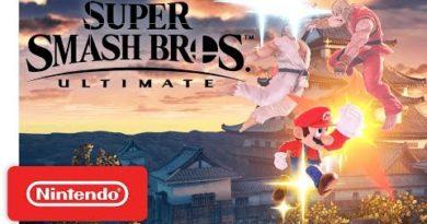 Mario Blasts the Streets in Super Smash Bros. Ultimate - Nintendo Switch
