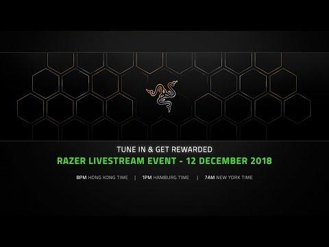 Razer Live Event | December 12, 2018