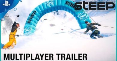 Steep - X Games Multiplayer Trailer   PS4
