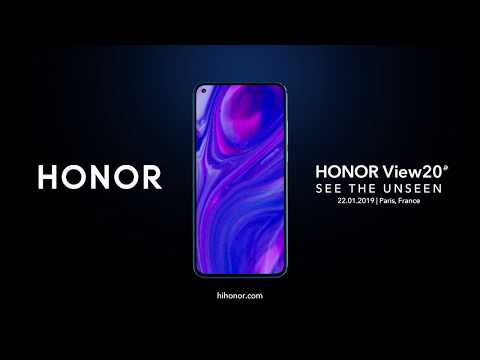 Introducing our HONORView20's All-View Display