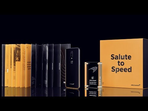 OnePlus 6T McLaren Edition - Unboxing the Spirit of Speed.