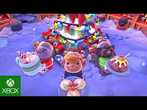 Overcooked 2: Kevin's Christmas Cracker Update!