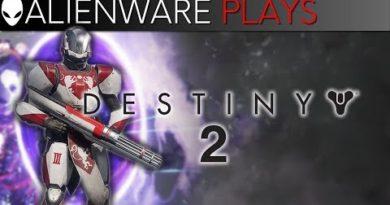 Alienware Plays Destiny 2 - Gameplay on m15 PC Gaming Laptop (GTX 1070 Max-Q)