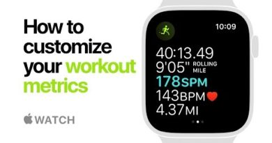 Apple Watch Series 4 — How to customize your workout metrics — Apple